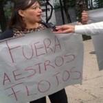 El derecho de los maestros a manifestarse