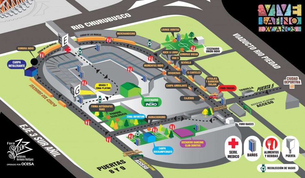 Mapa Vive Latino