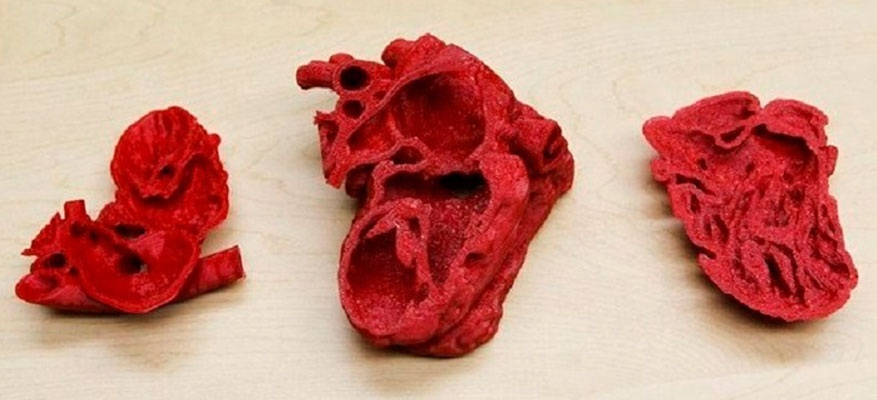 Corazón impresión 3D